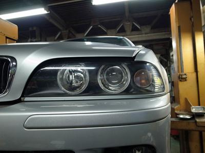 BMW E39 車検整備