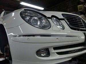 W211Eクラス車検整備