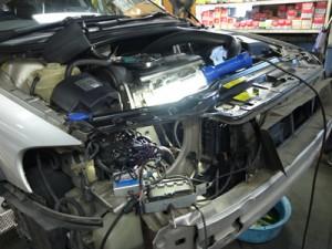 ボルボXC70エアコン修理
