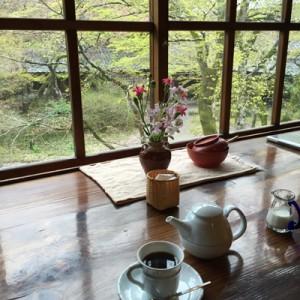 湯布院の喫茶店