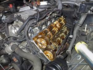 E65オイル漏れ