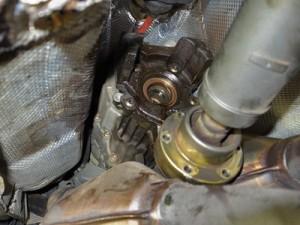 A6トランスファオイル漏れ