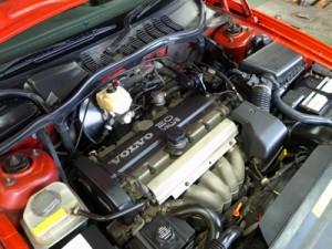 ボルボ5気筒エンジン
