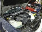 BMW-E46冷却水漏れ
