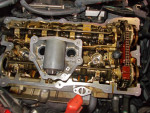 BMW・E87 オイル漏れ