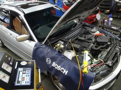 BMW-E46エアコン修理