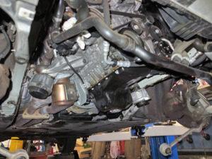E91エンジンオイルパン