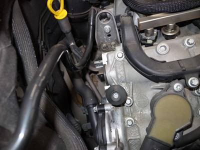 W211エンジンオイル漏れ