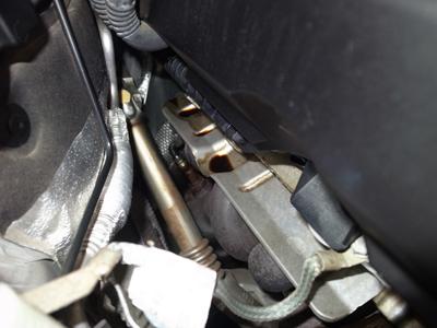 E90オイル漏れ