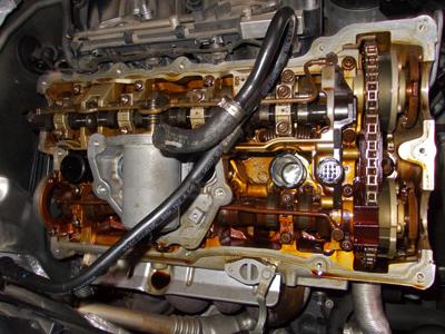 BMWカムカバーシール交換