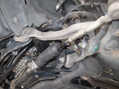 W211ステアリングリンク