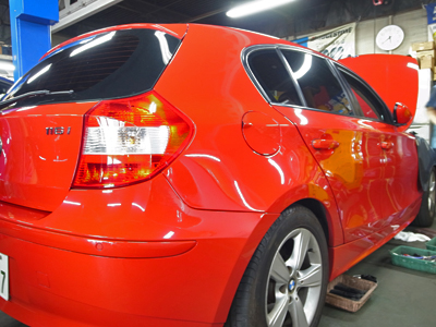 BMW-E87車検整備