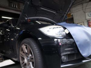 BMW-E90充電不良