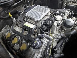 W204エンジン警告