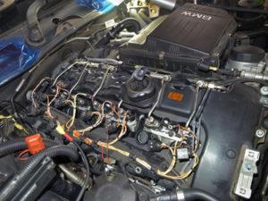 E90オイル漏れ整備
