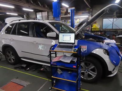 BMW-X5 DME故障