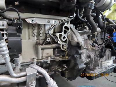 ミニR56 オイル漏れ修理