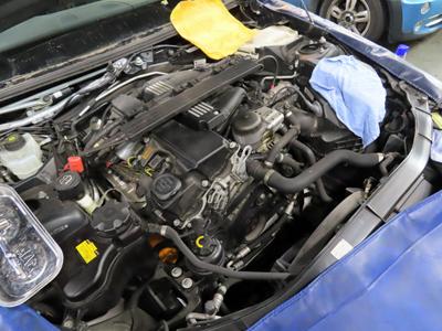 E91冷却水漏れ