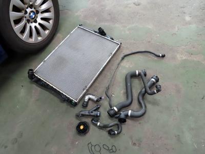E90冷却系メンテナンス