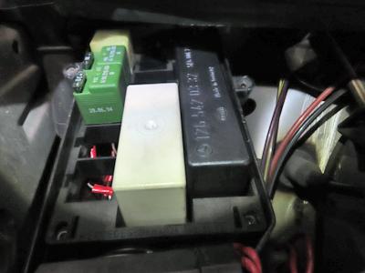 W124ポジション不灯