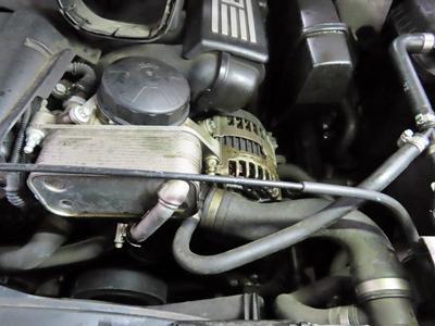 BMWX5冷却水漏れ
