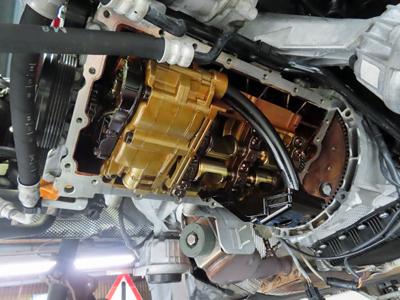 E91オイルパンガスケット交換