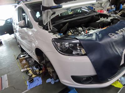 VWウォーターポンプ故障