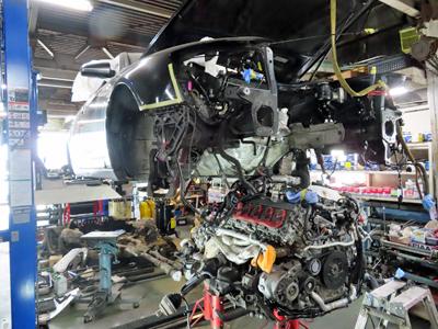 Audi-V10エンジン